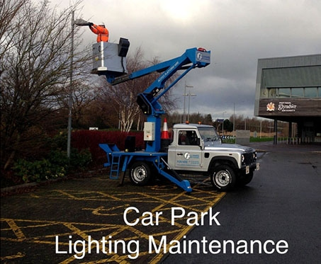 Lighting maintenance Fleet Flintshire